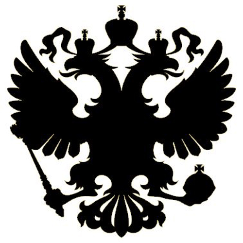 Details zu 2x auto aufkleber russland adler wappen car sticker russia
